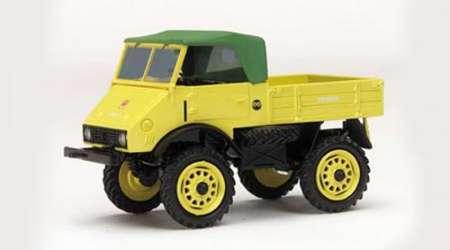 Unimog 401 Softtop in gelb