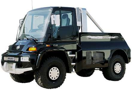 Unimog U500 Brabus - Black-Edition -