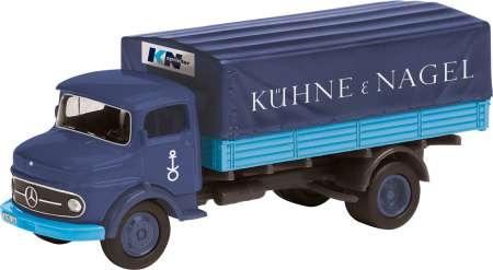 Benz L 311 mit Pritsche und Plane -Kühne & Nagel-