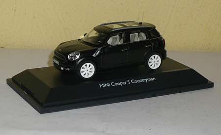 Cooper S Countryman Absolute Black