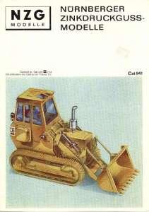 Farbkatalog ca. 1972, DIN A5, 8-seitig, 13 Abb. (z. B. Fuchs 50R, Weserhüttebagger, Menck SR 85 usw.) (Farb Kopie)