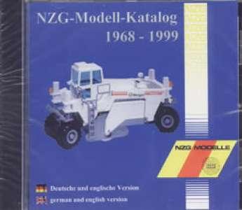CD ROM NZG-Modellkatalog von 1968 - 1999