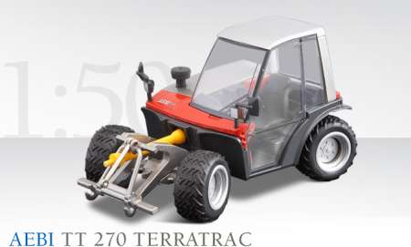 TT 270 Terratrac - Landwirtschaftlicher Gertetrger