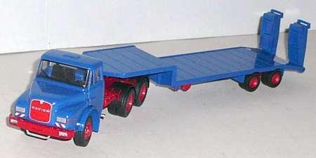 DHAS 26.240 Sattelzugmaschine 3achs mit auflieger 2achs
