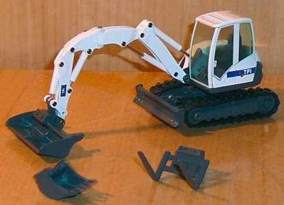 Raupenbagger 8MCR mit -TPI-