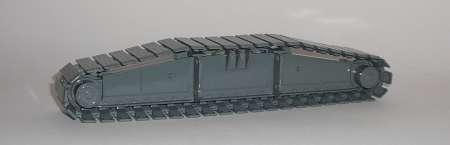 Raupenträger mit Raupenplatte LR 1750