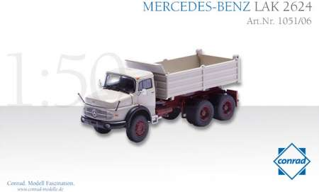 Benz LAK 2624 Rundhauber