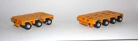 THP/SL3 und THP/SL4  Anhänger und Parallelkombination   Ral 1007