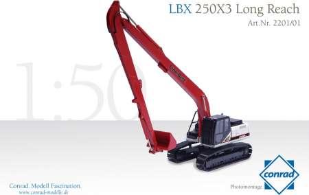 LBX 250X3 Long Reach Hydraulik