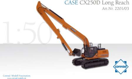 CX250D Long Reach Hydraulikbagger
