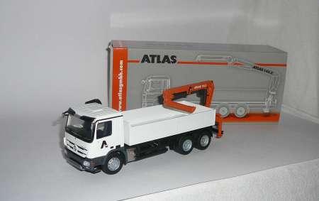 Benz Actros MP3  6x4 mit Atlas Typ 145.2