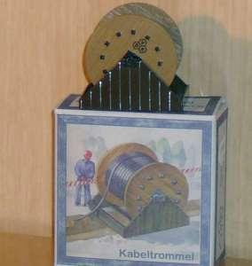 Set Kabeltrommel historisch (1 Stück) als Ladegut