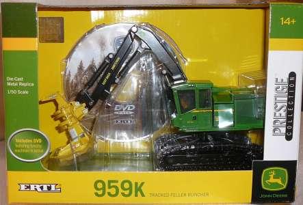 Harvester 959 K mit Kettenlaufwerk Forstmaschine zur Holzbearbeitung