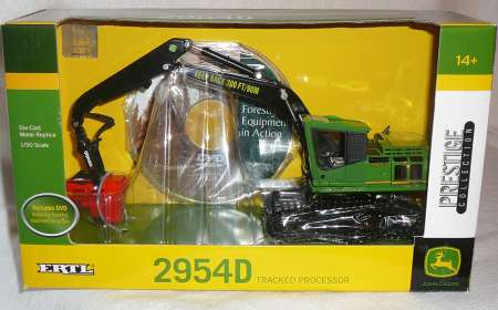 Forst-Umschlagmaschine 2954D mit 624C Harvesterkopf