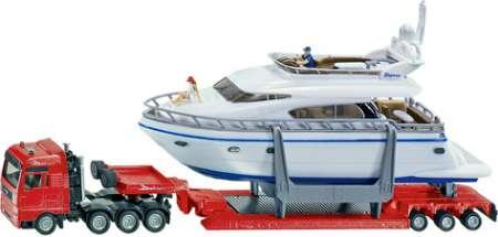 TGA Schwertransport mit Yacht