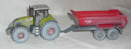 Traktor mit Krampe Half-pipe