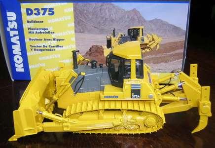 D375A-5 mit Metallketten