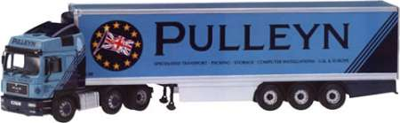 Frigde trailer pulleyn Transport LTD Reading