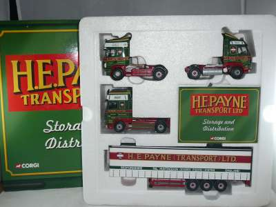 Set H E Payne Ltd (Scania, Volvo, Daf)