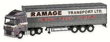 XF Space Cab Curtainside - Ramage Transport Ltd