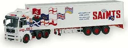 TGA XXL Box Trailer - Saints Transport