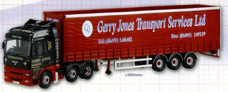 TGA XXL Curtainside -Gerry Jones Transport services Ltd-
