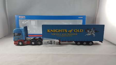 R Series Step Frame Curtainside Trailer -Knights of Old (FEB)