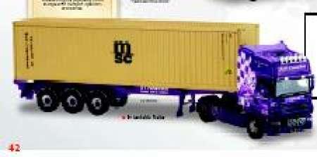 Topline Skeletal Trailer/Container -R S carmicheal Haulage (MAR)