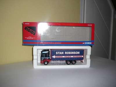 Alpha Curtainside Lorry - Stan Robinson Ltd NEW TOOLING (JUN)