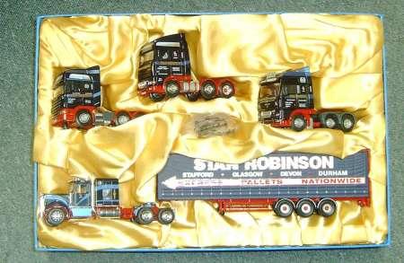 Scania, Daf und Kenworth Zugmaschinen Set