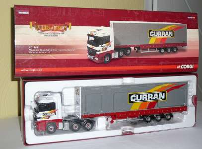Actros Step Frame Curtainside - D Curran & Sons Ltd (Jan.)