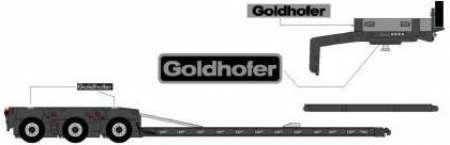 Goldhofer 3achs in schwarz STZ-VL3