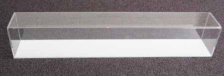 Plexiglas-Haube mit Sockel für LZV Modelle. 570x90x100mm
