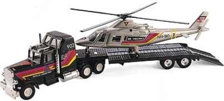mit und Hubschrauber