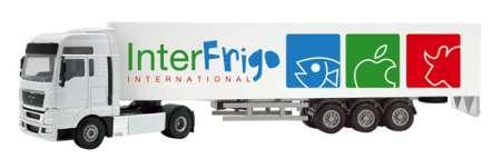 V8 mit Kofferauflieger -InterFrigo International-