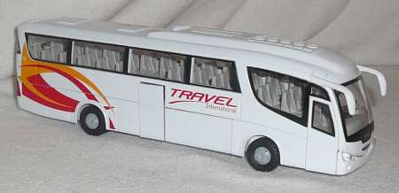 Irizar weiß-rot Travel International