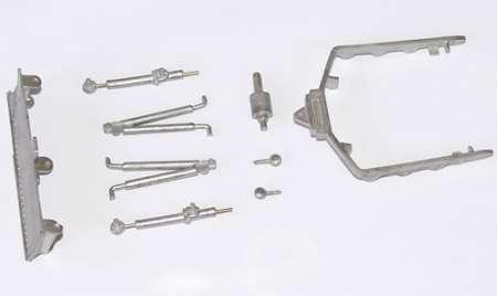 D4 Kettendozer (Art.-Nr. 121 oder 119) Reparatursatz 9teilig