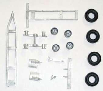 2achs Bausatz Kit Tandemhänger ohne Mulde