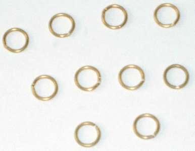Messingringe 7mm (10 Stück) für