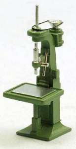 Standbohrmaschine - Drill Press Fertigmodell/ready made grün/green
