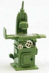 Schleifmaschine - Surface Grinder Fertigmodell/ready made grün/green