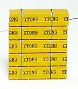 Ladegut Ytong Steine auf Palette -5 Paletten-