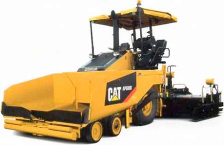 AP600D wheeled paver with canopy