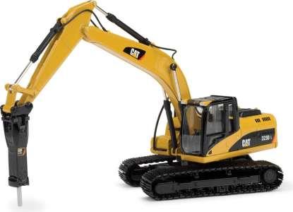 323D L mit H120E Hammer