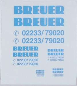 bogen (20 stück) -Breuer - Spedition