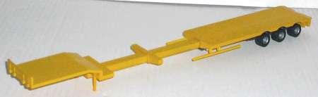 Satteltieflader 3achs hinten Fertigmodell ohne Rampen