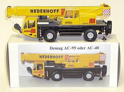 AC 95 oder AC40 Autokran 2achs -Nederhoff- Metallhubzylinder -Messingumbau- (Eigenbau/Self-s building) Einzelstck