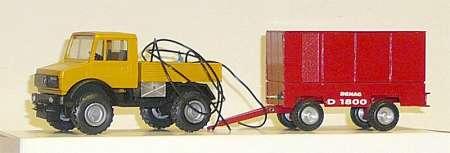 mit Kompresssor Anhänger -Demag 1800- (Eigenbau/Self-'s building) Einzelstück