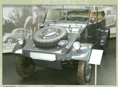 Kübelwagen WW2