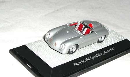 356 Speedster America in silber
